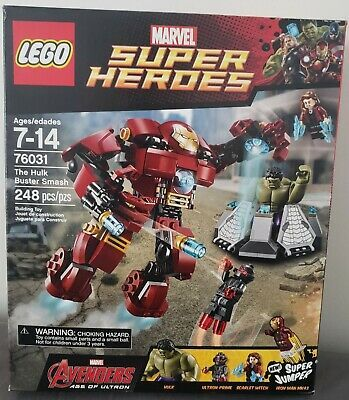 [eBay Hot Deal] LEGO 76031 Marvel Super Heroes The Hulk Buster Smash – Free Ship…