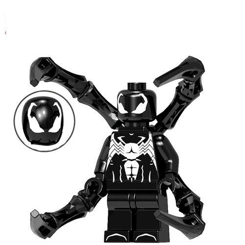 01BigBricks Custom Symbiote Spider-Man Minifgs Lego