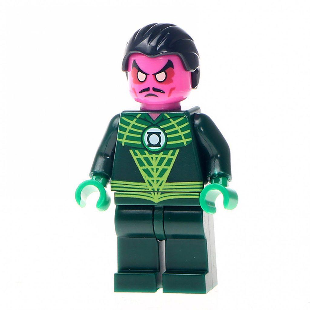 Minifigure Sinestro DC Comics Super Heroes Compatible Lego Building Blocks Toys