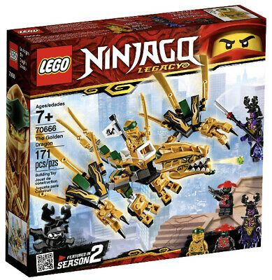 Ad – LEGO Ninjago The Golden Dragon Building Set 70666 (171 Pieces)