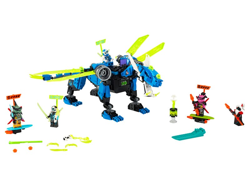 Jay's Cyber Dragon 71711 | NINJAGO® | Buy online at the Official LEGO® Shop US