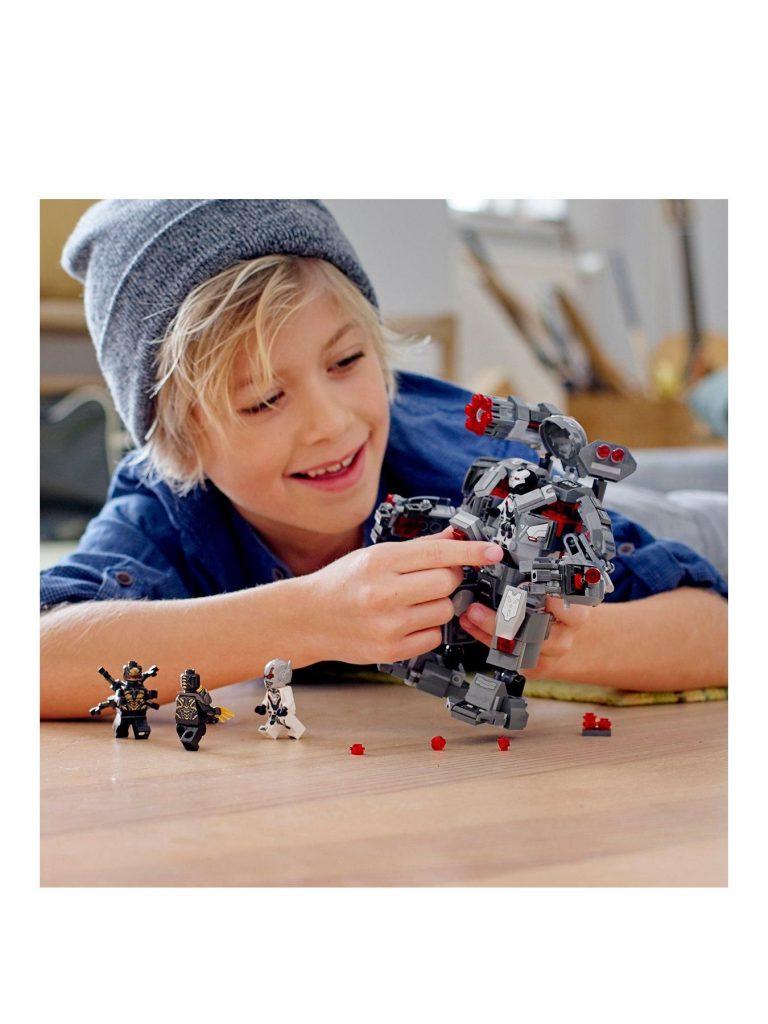 76124 Marvel Avengers War Machine Buster Figure