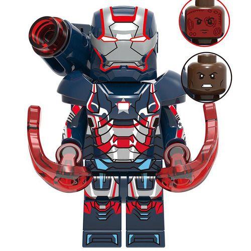 Iron Patriot  Avengers Marvel Minifigures