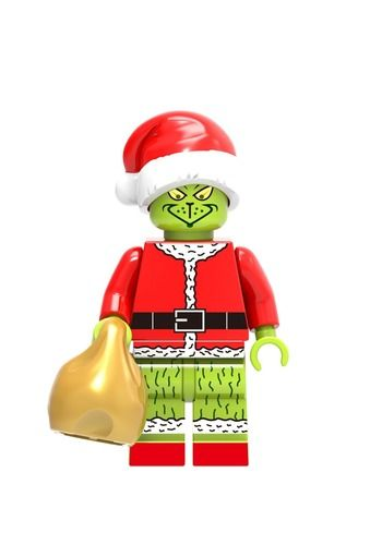 Christmas Grinch Custom Minifigures Minifigs fit Lego XH570