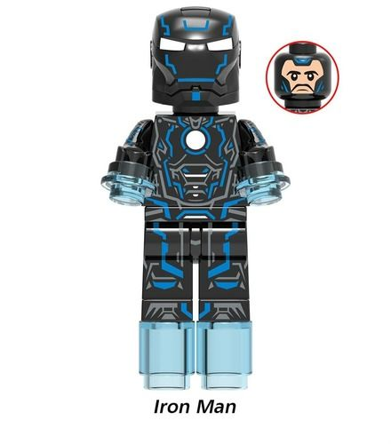 Tony Stark Custom Minifigures Minifigs Fit Lego