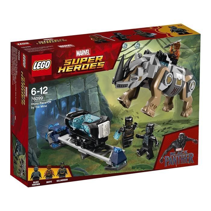 LEGO® Marvel Super Heroes 76099 Black Panther contre Killmonger : le combat dans la mine
