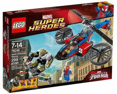 Ad – LEGO Super Heroes Spider-Helicopter Rescue (76016) – Brand New & Sealed