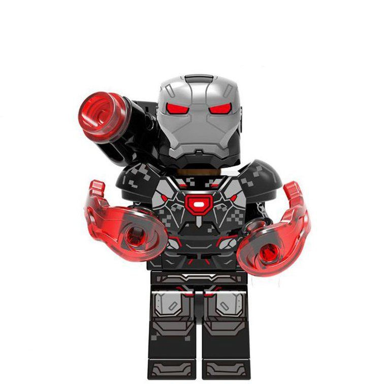 Avengers Super Heroes building block Toy War Machine Minifigures Compatible Lego Minifigure