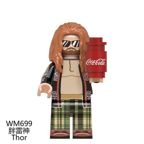 Thor Avengers Endgame Custom Minifigs Minifigures Lego