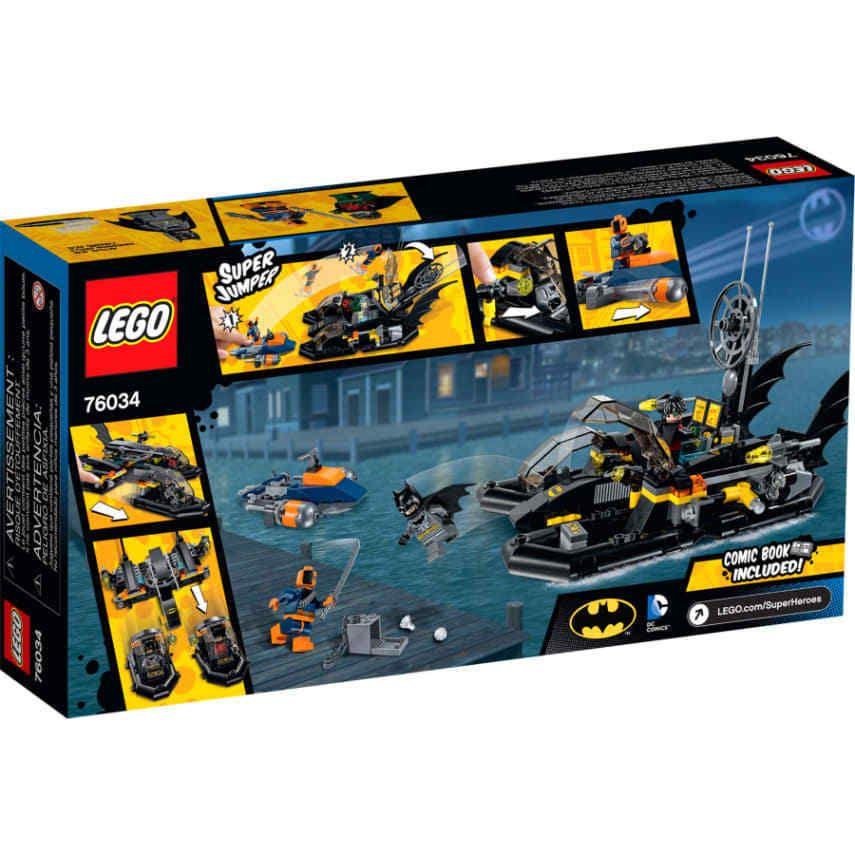 Lego DC Comics Super Heroes The Batboat Harbor Pursuit 76034 Sealed Brand NEW  for sale online