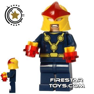 LEGO Super Heroes Mini Figure – Nova | Super Heroes LEGO Minifigures | LEGO Minifigures