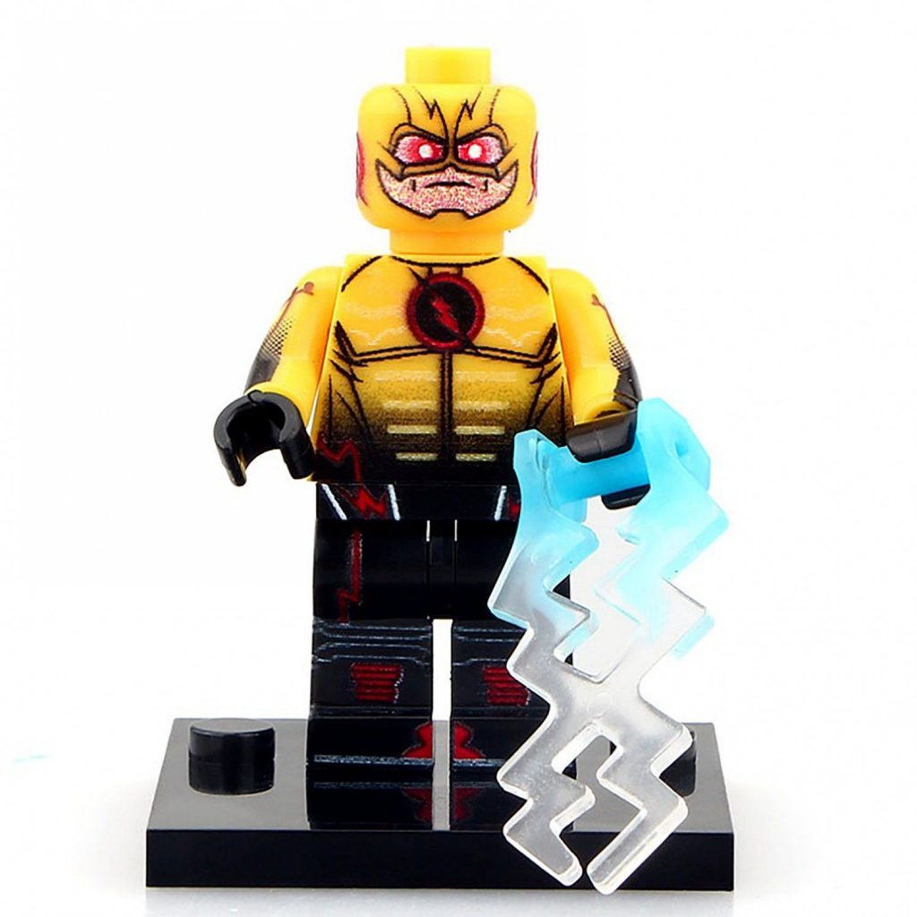 Minifigure Reverse Flash DC Comics Super Heroes Compatible Lego Building Blocks Toys