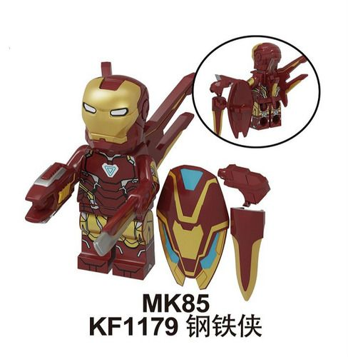 Ironman Mark 85 Mavrel SuperHeroes Minifigures