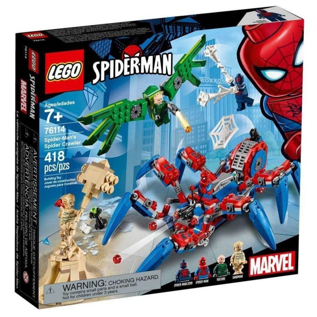 Lego Super Heroes Marvel 76114 Homem Aranha Robô – Lego