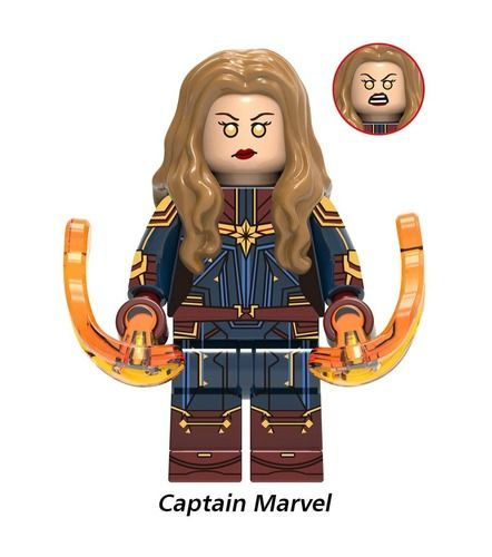 Captain Marvel Avengers Endgame Minifigs Fit Lego
