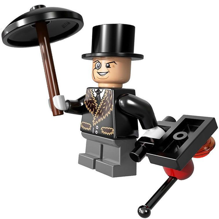 LEGO DC Universe Super Heroes The Penguin Minifigure [Loose]