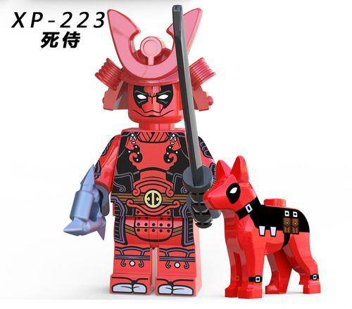 Deadpool Marvel Super Heroes Custom Minifigs