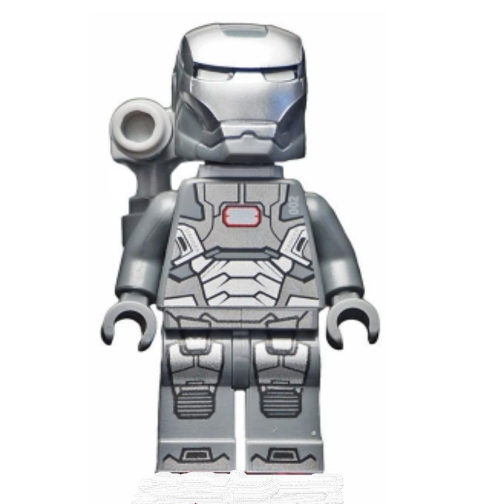 Lego Marvel Super Heroes 2013 War Machine  minifigure Iron Man 3 @sold@