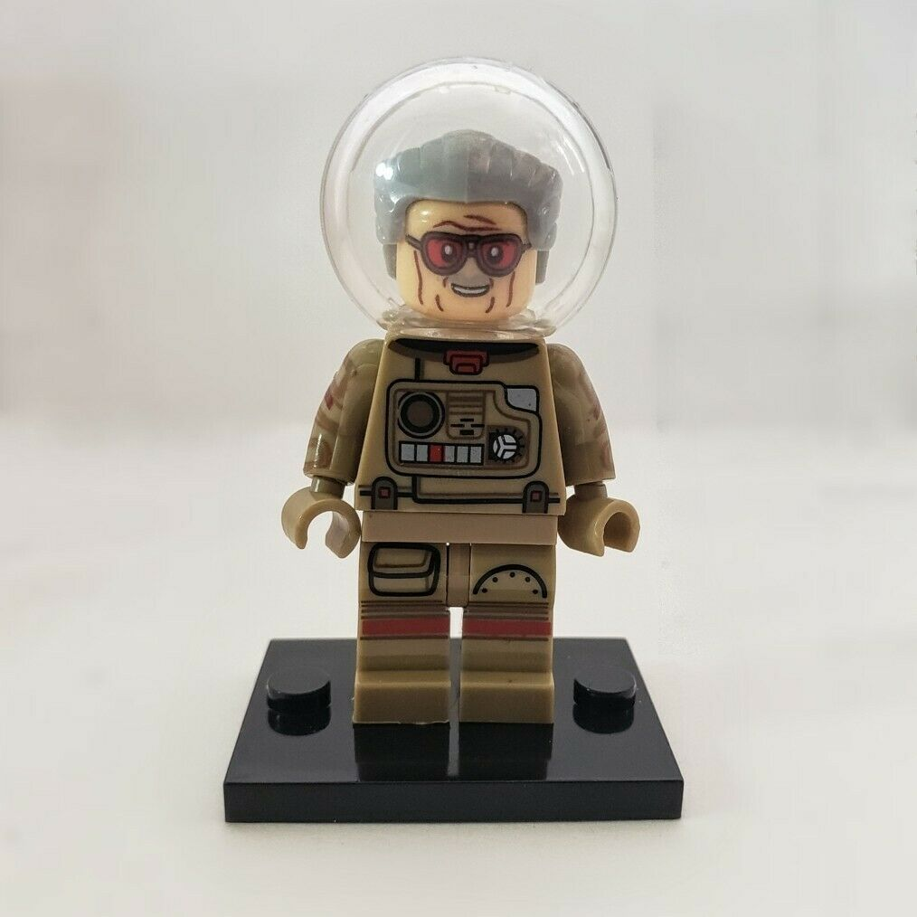 Stan Lee Astronaut GOTG Custom Minifigure Building Block Super heroes Marvel