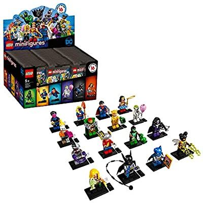 LEGO Minifigures DC Super Heroes Series 71026 Collectible Set, New 2020 (1 of 16 to Collects) Featuring Characters from DC Universe Comic Books