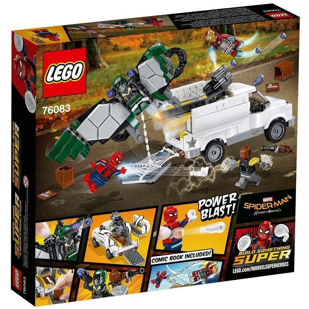 Lego Marvel Super Heroes Set 76083 Spider-man Homecoming Beware The Vulture Kit