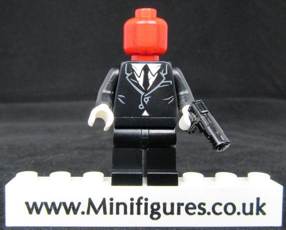 Red Hood Henchman Custom Minifigure | Minifigures.co.uk