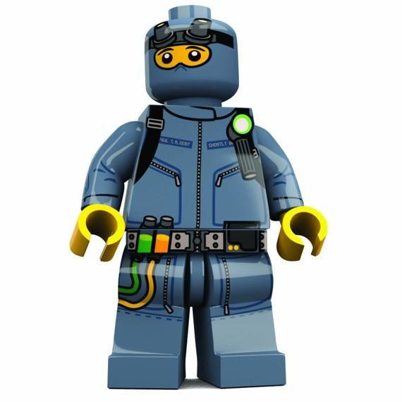 Ghost Hunter Custom LEGO Minifigure LIMITED EDITION