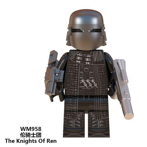 Knights of Ren Star Wars Minifigs Minifigure