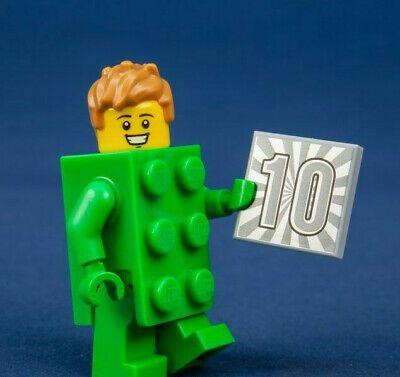 Ad – New LEGO Minifigure Series 20 Brick Costume Guy 10th Anniversary (71027)