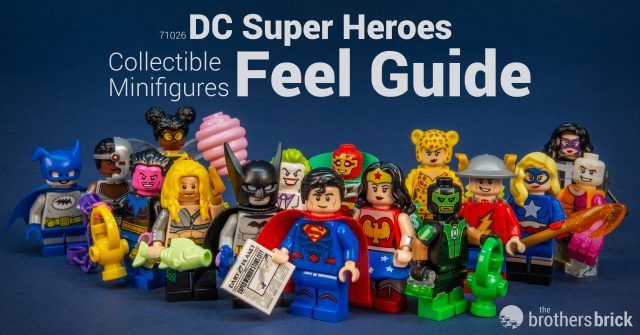 LEGO Collectible Minifigures 71026 DC Super Heroes Feel Guide [Review] | The Brothers Brick