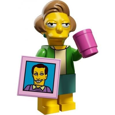 LEGO Minifigures – The Simpsons 2 – Edna Krabappel | The Simpsons 2 | Collectable LEGO Minifigures