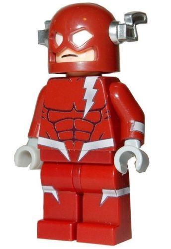 **NEW** Custom Printed DARK FLASH Super Hero Villain DC Block Minifigure