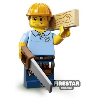 LEGO Minifigures – Carpenter | Minifigures Series 13 | Collectable LEGO Minifigures