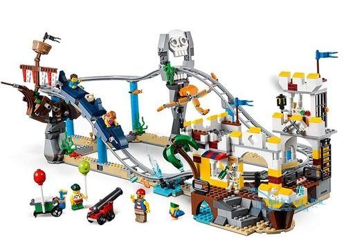 Creator Pirate Roller Coaster Bricks Set