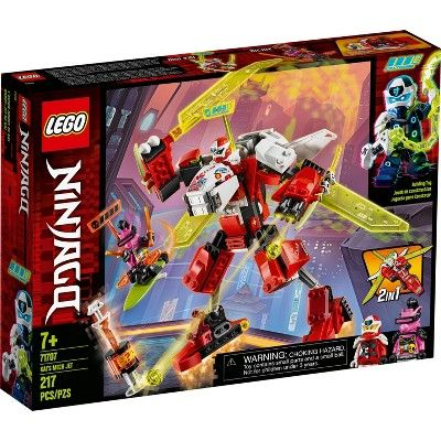 LEGO NINJAGO Kai's Mech Jet 71707 Toy Plane Building Kit