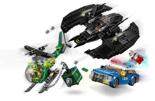 LEGO – DC Super Heroes Batman Batwing and The Riddler Heist 76120 – Multi