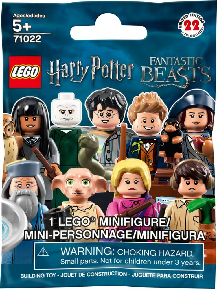 Lego – Minifigures Harry Potter and Fantastic Beasts – Blind Box – Styles May Va…
