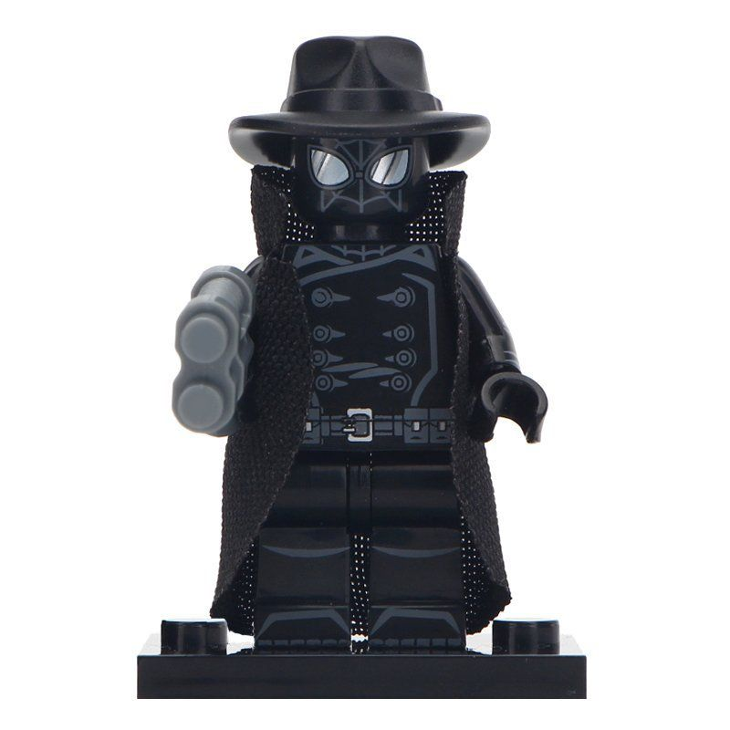 Minifigure Spider-Man Noir Marvel Super Heroes Compatible Lego Building Block Toys