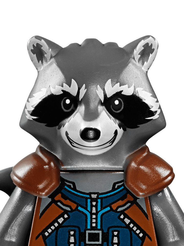 Check out this web page for great info about Rocket raccoon!