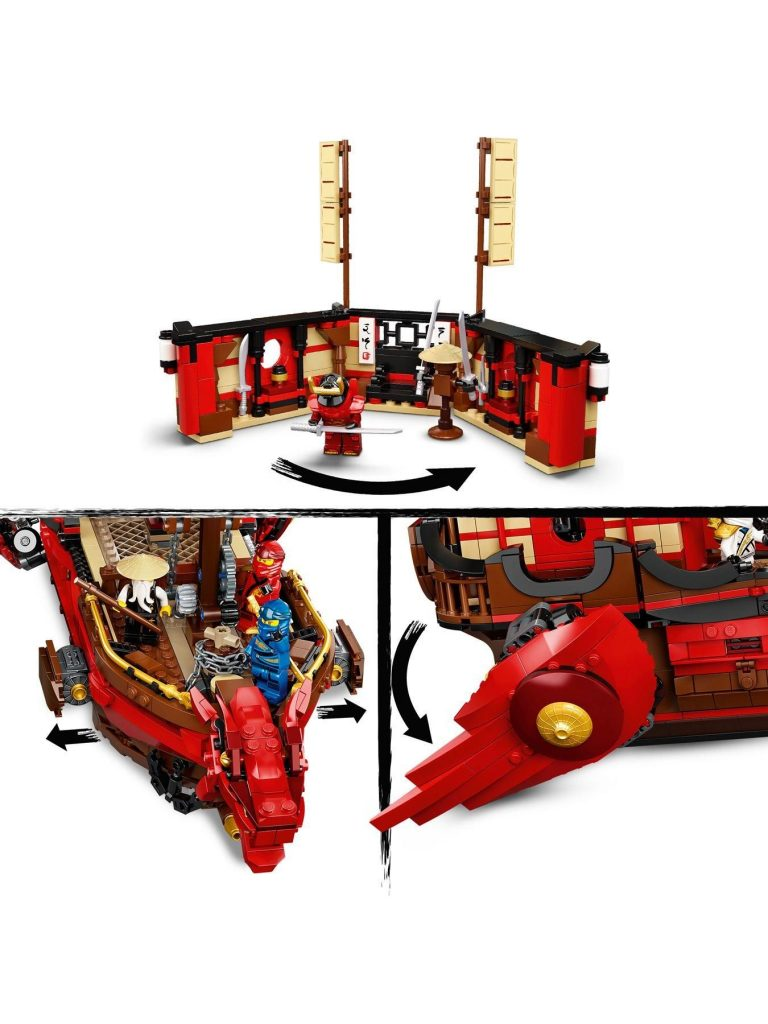 Lego Ninjago 71705 Legacy Destiny'S Bounty Battle Ship – One Colour –