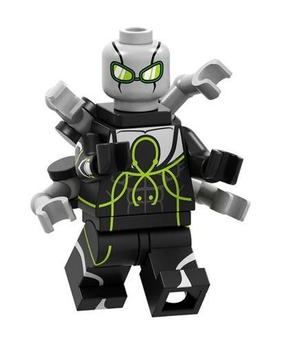 Superior Octopus Spider Custom Marvel SuperHeroes Minifigures Minifigs fit Lego P1685