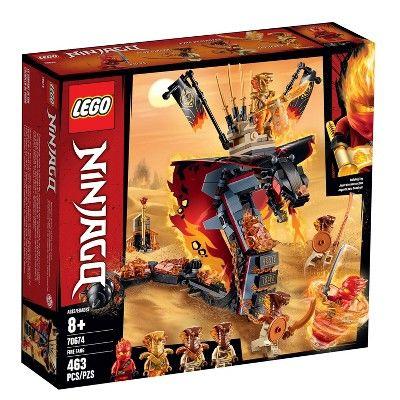 LEGO Ninjago Fire Fang 70674 Snake Action Toy Building Set with Ninja Minifigure…