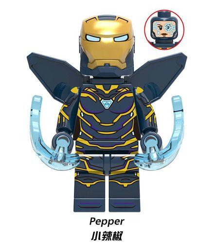 Pepper Potts Avengers Endgame Minifigs Fit Lego