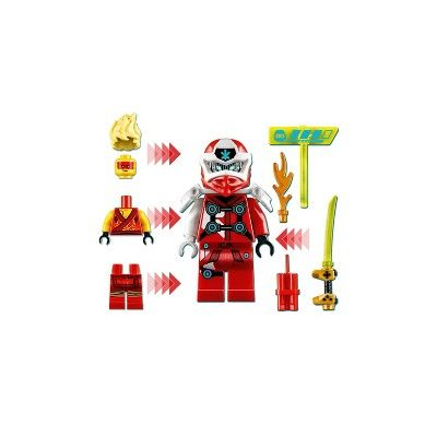 LEGO NINJAGO Kai Avatar Arcade Pod 71714 Mini Arcade Machine Building Set