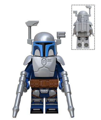 Jango Fett Star Wars Minifigs Minifigure Fit Lego