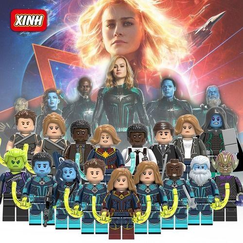 Avengers 4 Endgame Custom Minifigures Minifigs Fit Lego
