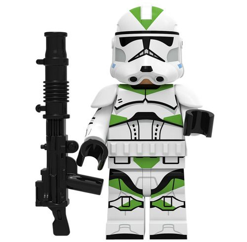 Clone Trooper (Green) Star Wars Minifigs Minifigure