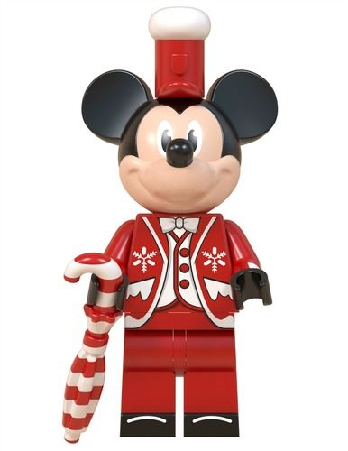 Christmas Mickey Mouse Custom Minifigures Minifigs