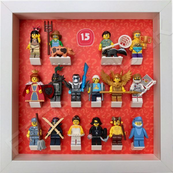LEGO Minifigures Series 15 Display Frame | Frame Punk