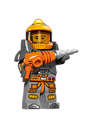 Meet the awesome LEGO® Minifigures!